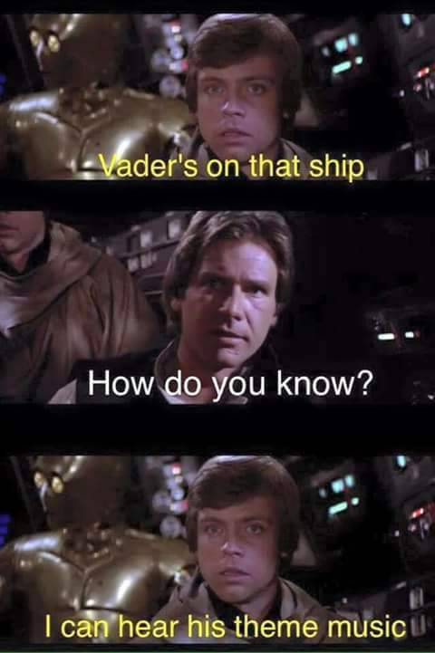 Vader is on that ship.
