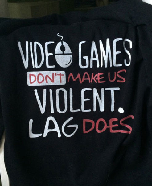 Video games do not cause people to be violent.