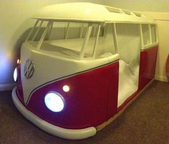 Vw fans will love this bus bed realfunny - Bus kinderbett ...