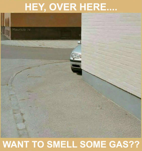 Want to smell some gas?