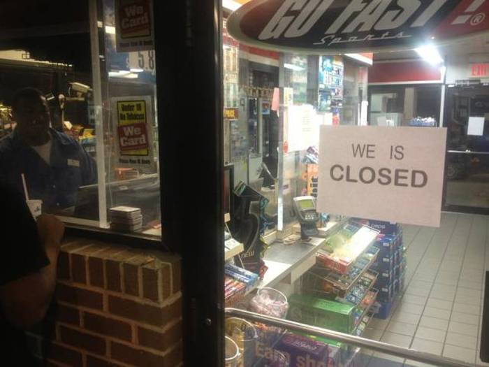 Went to buy a pack of Newports but the damn store was closed.