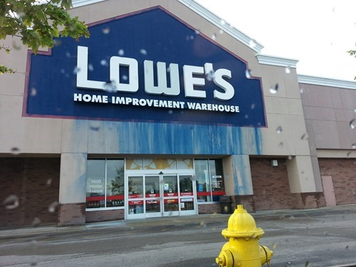 Went to Lowe's to buy some paint. Changed my mind.