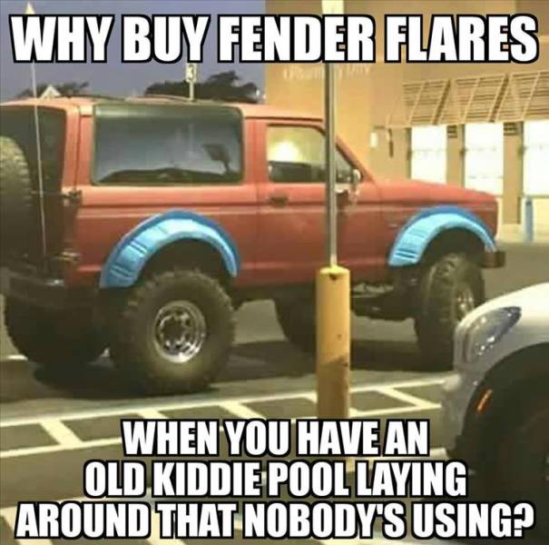 Why buy fender flares?