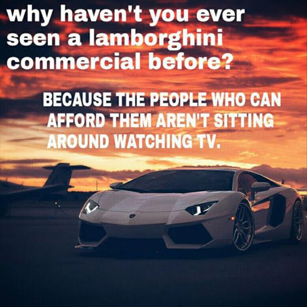 Why you have never seen a Lamborghini commercial before.