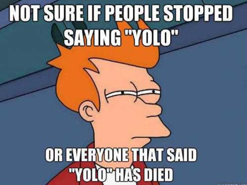 YOLO was like the one hit wonder of memes