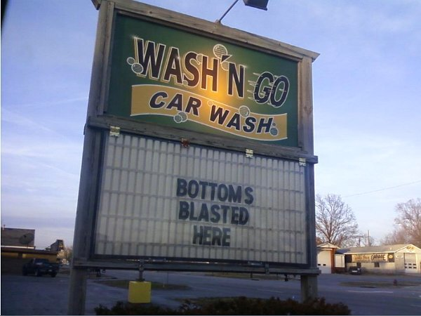 You Can Get Your Underside Very Clean at This Car Wash.