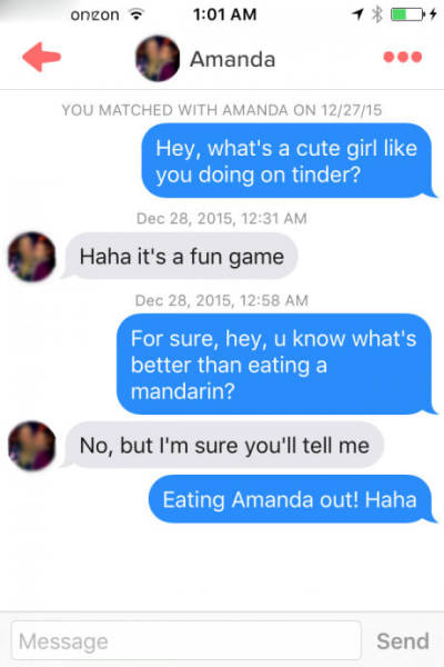 This guy really knows how to Tinder.
